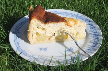 Rezept Apfel Quark Kuchen Genial Lecker