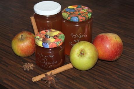 Apfelgelee mit Punschgewürz