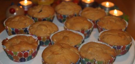 Schnelle Apfelmuffins
