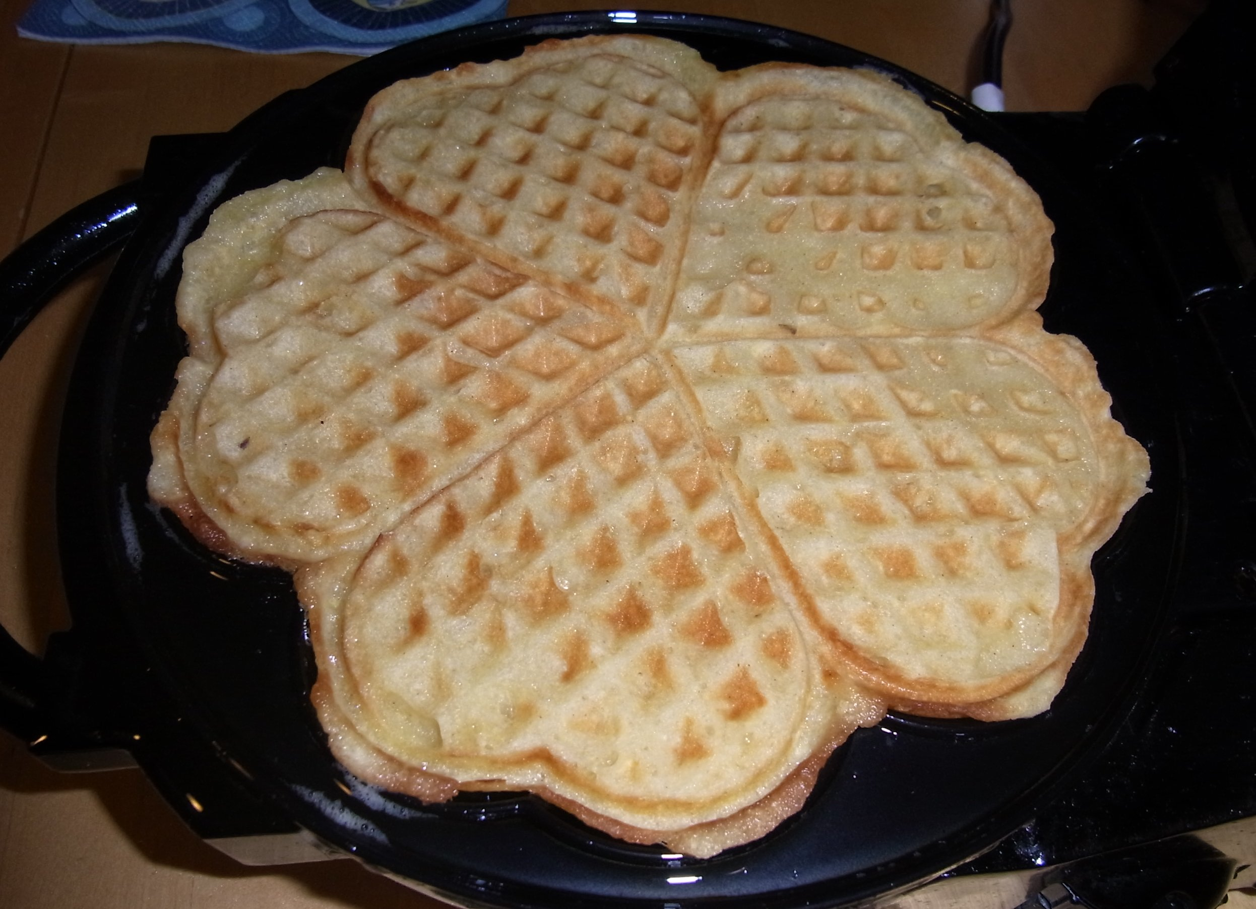 Aapfelwaffeln
