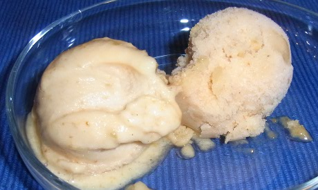 aprikosensorbet