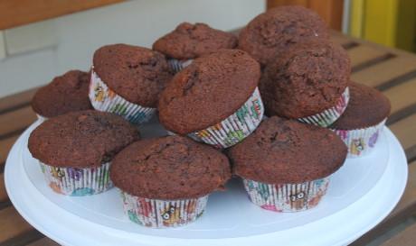 rezept bananen schokoladen muffins genial lecker. Black Bedroom Furniture Sets. Home Design Ideas