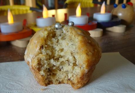 Bananenmuffins mit Mandeln