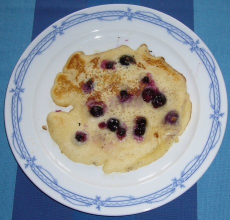 Blaubeerpfannkuchen