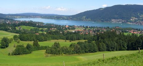 Blick Tegernsee