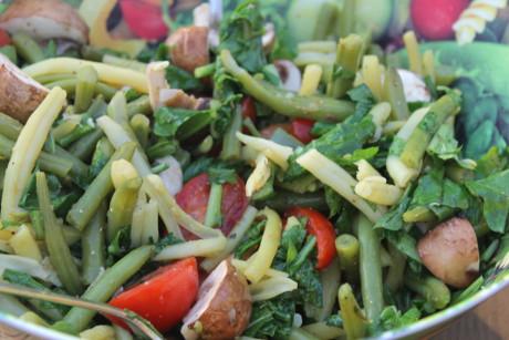 Rezept: Warmer Bohnensalat