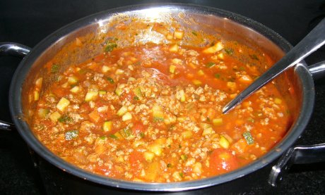 Schnelle Bologneser Sauce