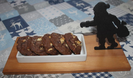 Cashew-Schoko-Cookies