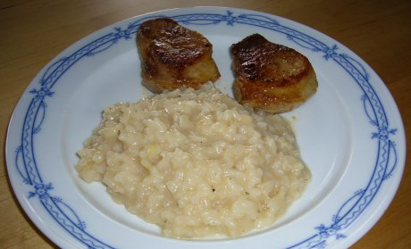 Champagnerrisotto