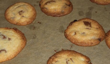 Cookies mit Schokolade