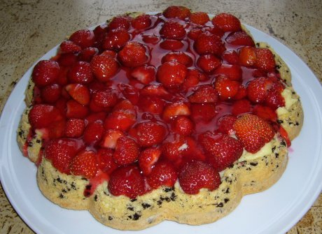 Erdbeerkuchen