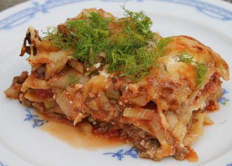 Fenchel-Lasagne
