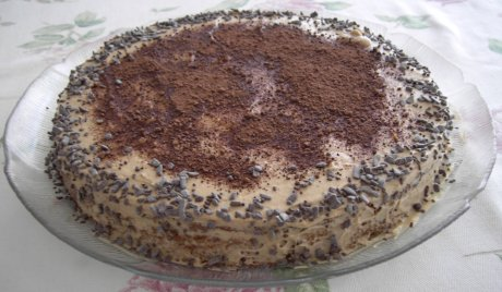Frapp�-Torte