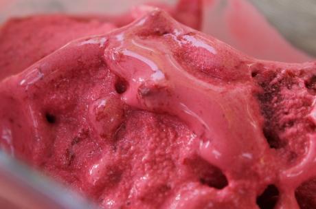 Frozen Joghurt Sauerkirschen