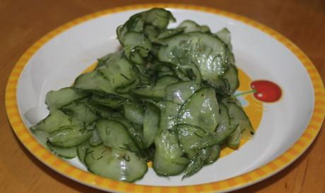 Gurkensalat nach Findus