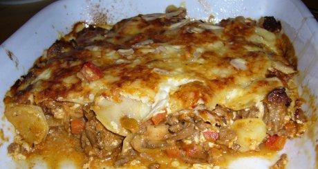 Rezept kartoffel lauch hackfleisch gratin