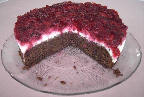 Himbeer-Quark-Torte