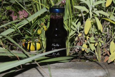Holunderbeeren-Sirup