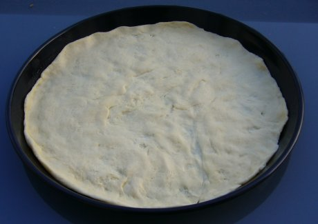 Italienische Pizza - Boden
