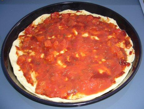 italienische Pizza - Basis