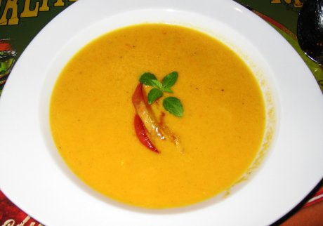 Karotten-Ingwer-Suppe