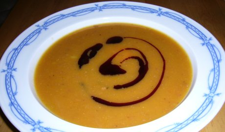 Krbis-Kartoffel-Suppe