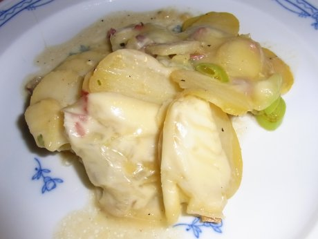 gratinierter Kartoffelsalat