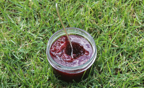 Kirsch-Erdbeer-Marmelade