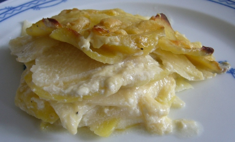Kohlrabi-Kartoffel-Gratin
