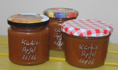 Kürbis-Apfel-Aufstrich