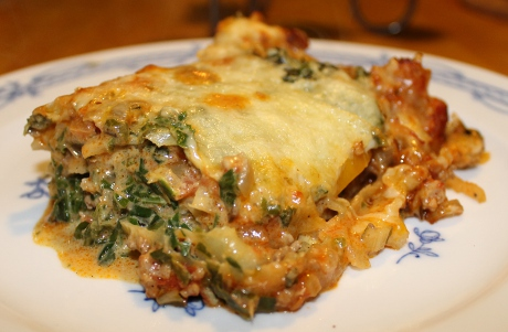Mangoldlasagne