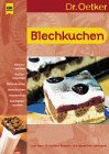 Dr. Oetker - Blechkuchen