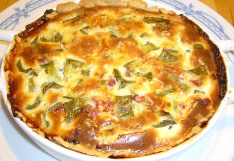 Paprika-Schinken-Tarte