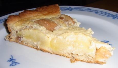 Quitten-Apfel-Tarte