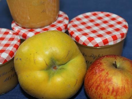 Quitten-Apfelmus