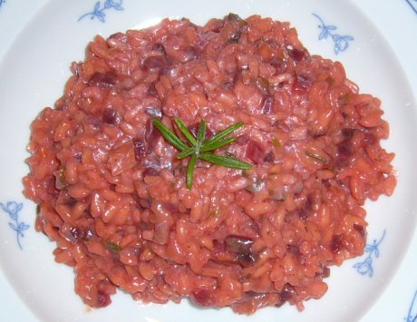 Rote Bete Risotto