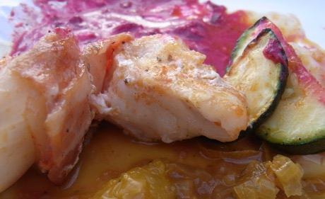 Rote Bete Sauce mit Meerrettich
