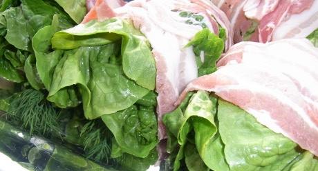 gegrillter Salat