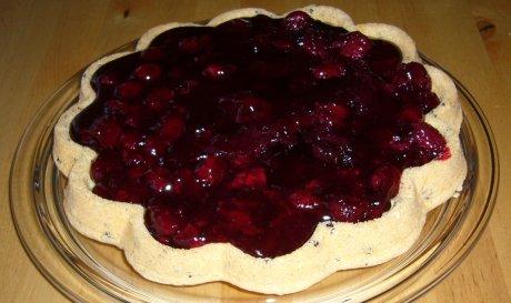 Sauerkirsch-Sahne-Torte