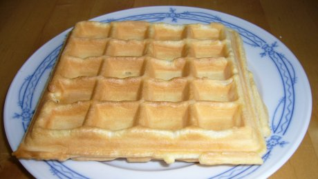 Saure-Sahne-Waffeln