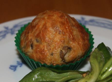 Schinken-Pilz-Muffins