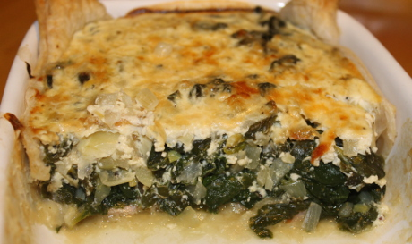 Schinken-Spinat-Quiche