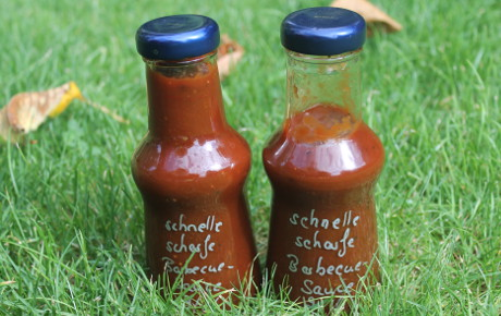 schnelle Barbecue-Sauce