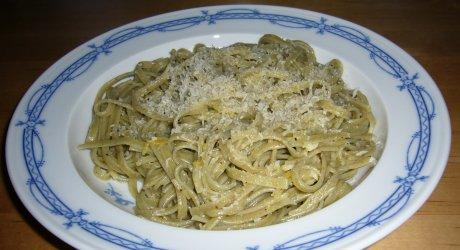Spaghetti mit Zitronensauce