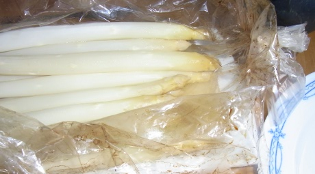 Spargel aus dem Bratschlauch