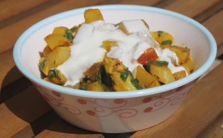 Spargel-Kartoffel-Curry