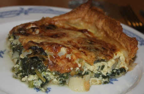 Spargel-Spinat-Quiche