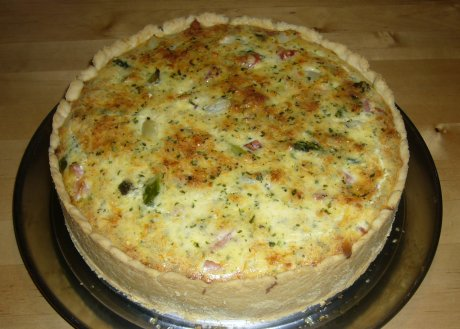 Spargelquiche