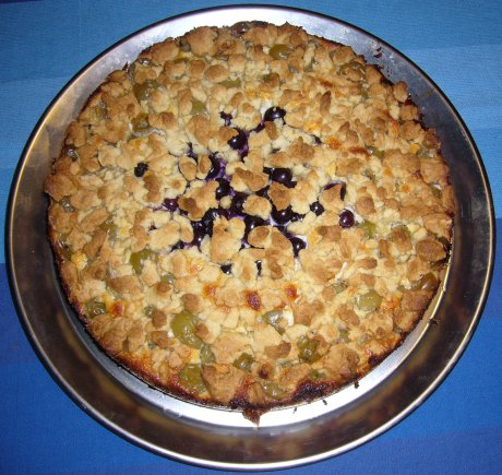 Stachelbeerquarkkuchen