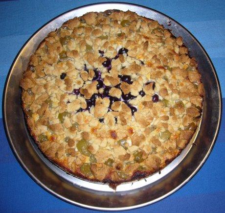 Stachelbeerquarkkuchen